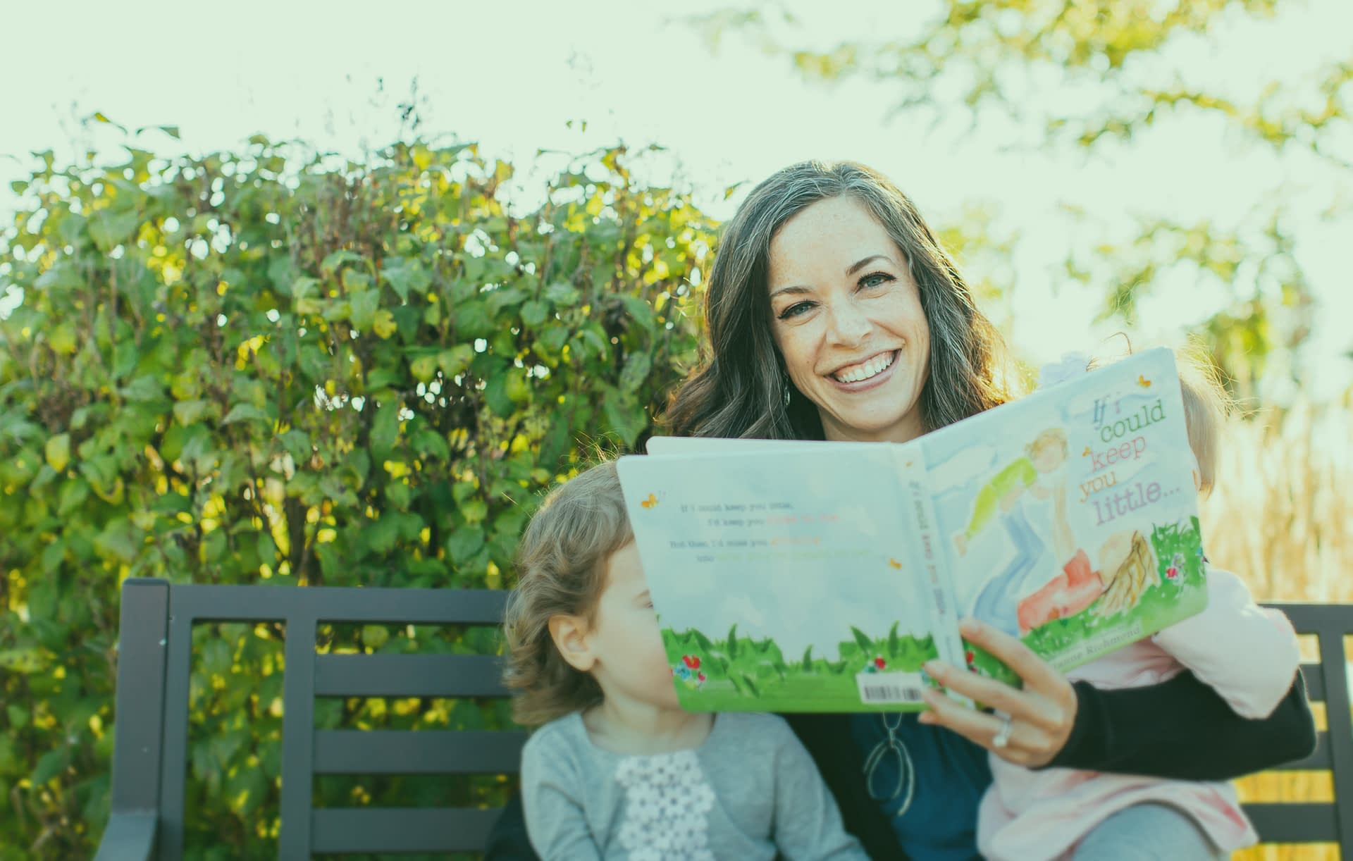 Dr. Jacquelyn Bogdanov And Her Kids Read A Book