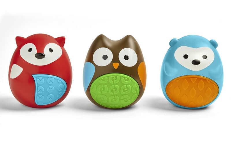 Image of Skip Hop Explore and More Egg Shaker Trio - Recommended by Child Behavior Clinic