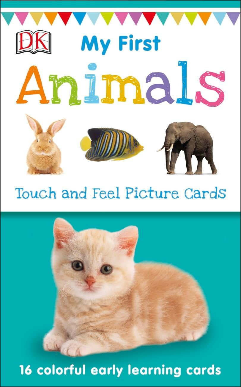 My First Touch and Feel Picture Cards - Animals