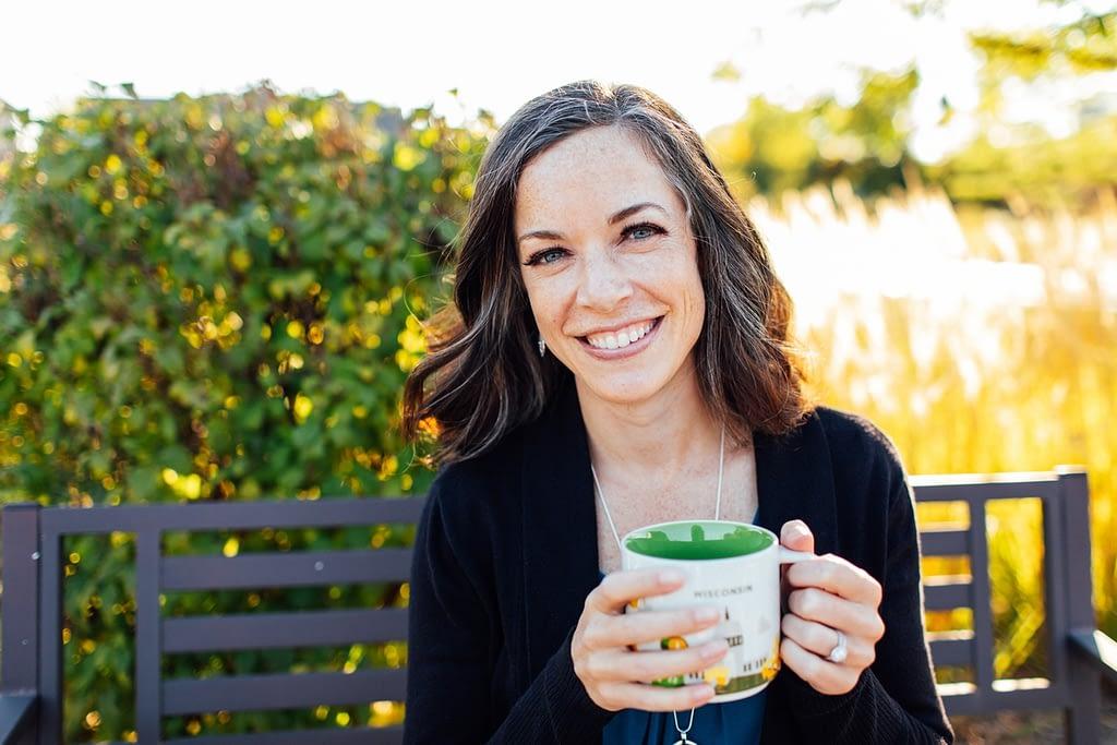 Dr. Jacquelyn Bogdanov - Child Psychologist - Having a Coffee